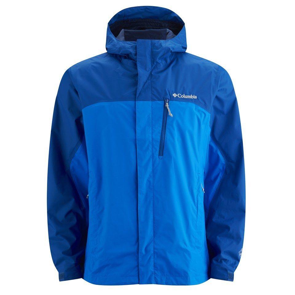 COLUMBIA POURING ADVENTURE JACKET (Questa giacca impermeabile a due strati  non ingombrante offre traspirabilità e 379500edbe04