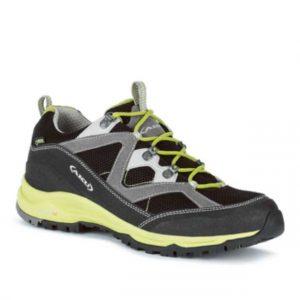 AKU MIO GTX (scarpa trekking bassa impermeabile, comodità ed impermeabilita assicurano un escursione senza imprevisti, la linea a caviglia bassa si adatta per coloro che preferiscono il piede più libero)